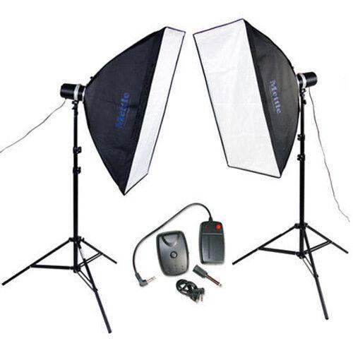 Mettle Studio relámpago-set estocolmo 2x160 WS Studio relámpago apéndice Studio relámpago lámpara