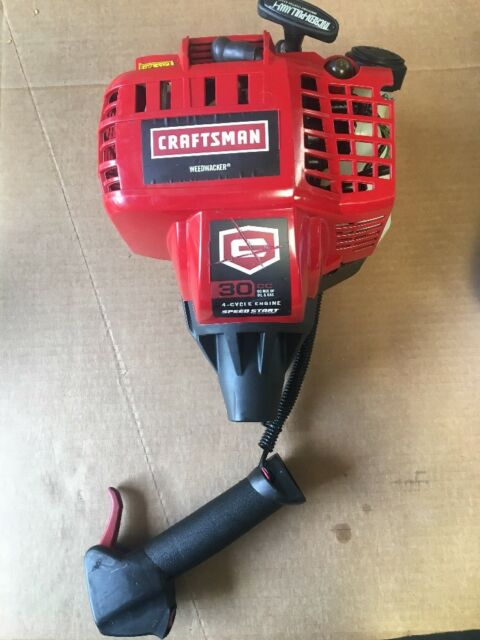 Craftsman 30CC 4-CYCLE Gas Trimmer Weedwacker 73197 NO CARB ENGINE ASSEMBLY ONLY
