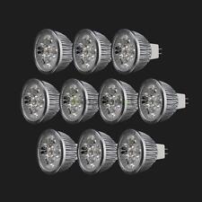 10x New LED Spotlight Bulb Lmap MR16 4W 12V Warm White Spot Light Energy Saving