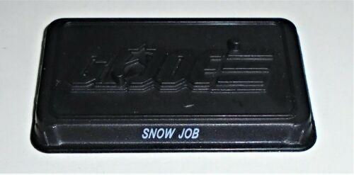 GI Joe Figure Name Plate Display Stand Base      2010 Snow Job