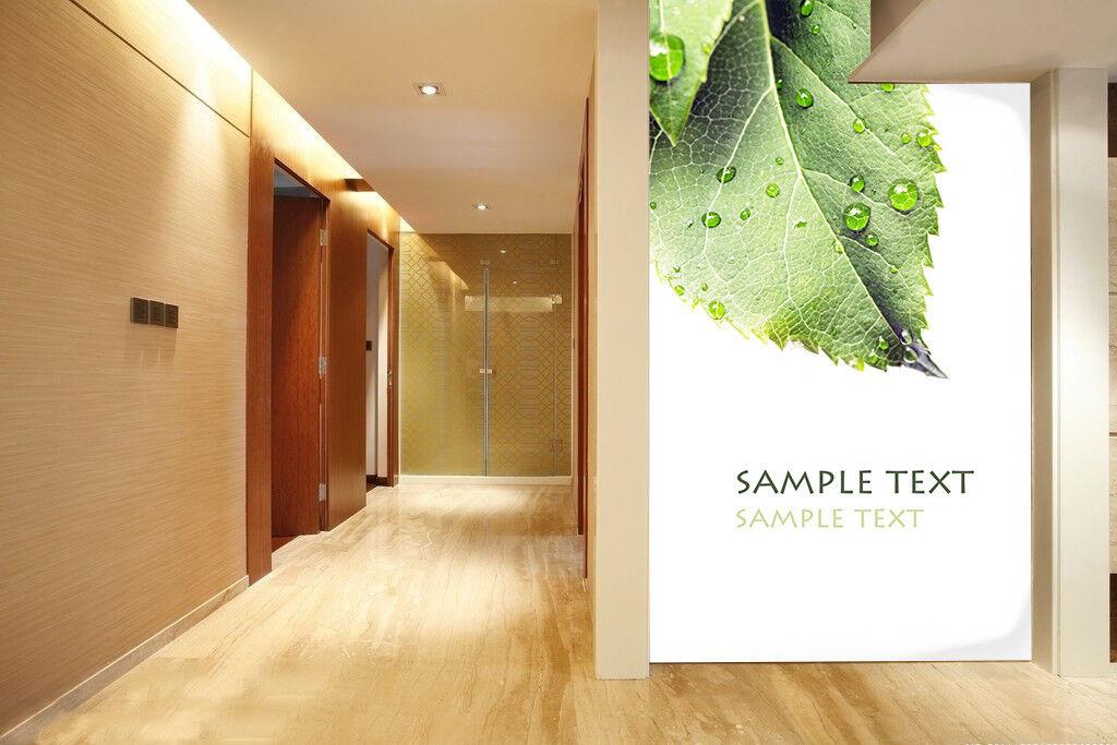 3D Kunst greene Blätter 6 Tapete Tapeten Mauer Foto Familie Tapete Wandgemälde DE
