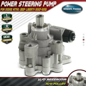 Power-Steering-Pump-for-Dodge-Nitro-Jeep-Liberty-3-7L-4-0L-2007-2012-52129328AC