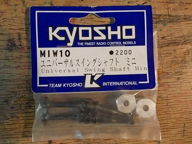 MIW-10 MIW10 Universal Swing Shaft   Optional Upgrade Part - Kyosho Mini Cooper
