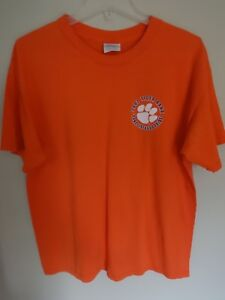 2ca61a61a Image is loading Vintage-EUC-2002-Clemson-Tigers-Band-Graphic-Printed-