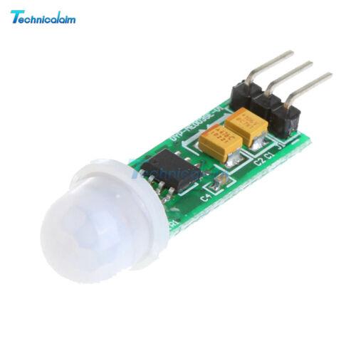 10PCS HC-SR505 Mini PIR Motion Sensor Precise Infrared Detector Module