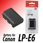 New Canon LP-E6 LPE6 1800mah Battery for EOS 5D II 5D III EOS 7D 60D LC-E6