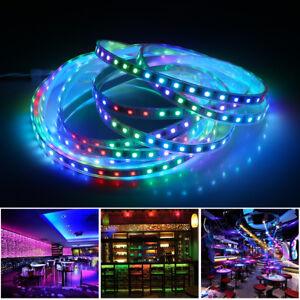 5M-5050-SMD-300-LEDs-RGB-1903-IC-Dream-Color-LED-Strip-Licht-wasserdicht-12V