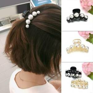Women-Girls-Pearl-Rhinestone-Hairpin-Hair-Clip-Claw-Accessories-Headdress-Gift