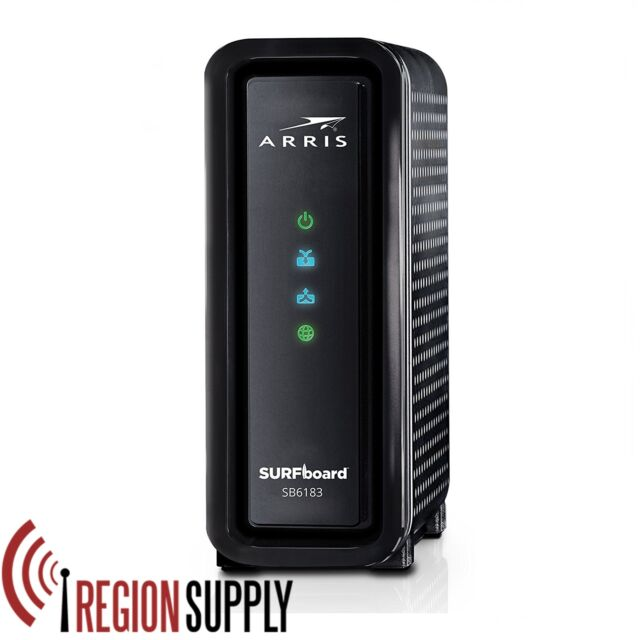 arris motorola surfboard sb6183 docsis 3 0 cable modem spectrum