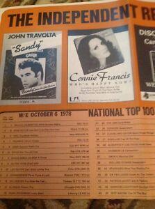 N1-4-Ephemera-1978-Fold-Out-Record-Chart-Oct-6th-1978-No-1-Summer-Nights