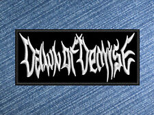 GUTTED band logo embroidered sew on patch death metal bleed for us to live rare