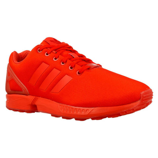 buy online 50bc1 b07f7 AQ3098 adidas ZX Flux Red Mens Sneaker Size 11.5
