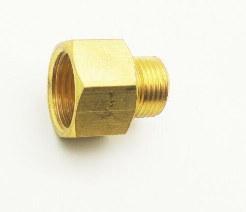 Cárter de latón Adaptador De Enchufe Sensor Medidor de Temperatura del Aceite M10 x1-M10//M12//M14//M16 M18
