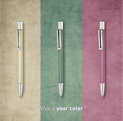 12pcs MONAMI 153 Ball Point Pen 0.7mm Black Blue Red World basics Pen 1dozen