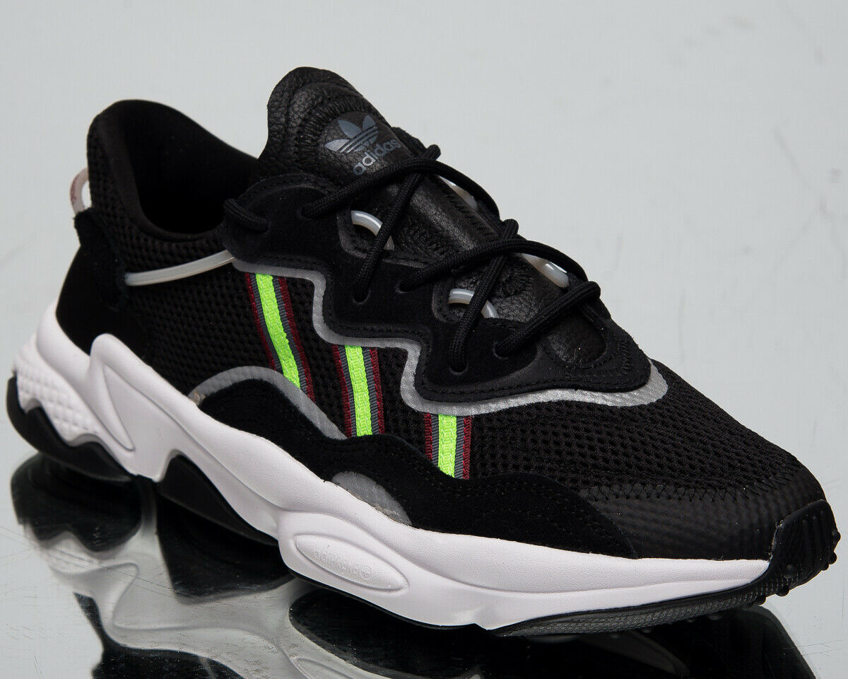 Adidas Original Ozweego Herren Core Schwarz Freizeit Lifestyle Turnschuhe EE7002