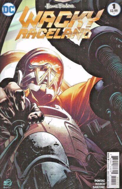 Barbera DC Comics 2016 VF Wacky Raceland #1 Penelope Pitstop Variant Cover