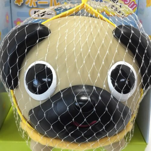 Squeaking Squishy Press Animal Ball Toy Cute Pug Dog JAPAN