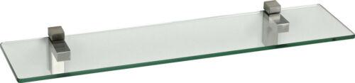 ib style® Glasregal 10 mm Ablage Wandregal Glasboden Badregal Glas INKL.CLIPS