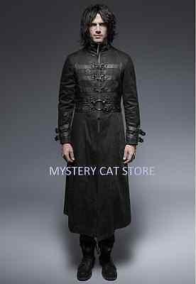 New PUNK RAVE Gothic Vampire Heavy Metal Jacket Coat Y349 ALL STOCK IN AUSTRALIA