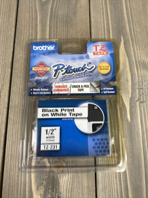 Brother P-Touch TZ-231 Durable Laminated Tape 1/2