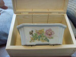 Antique Chinese Famille Rose Bonsai Pot En Cas-afficher Le Titre D'origine