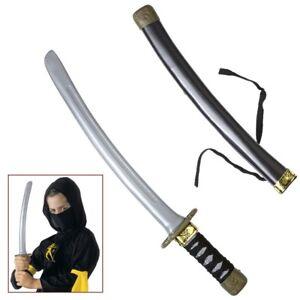 Ninja Messer Karneval Samurai Schwert Katana Waffe Kinder Kostum