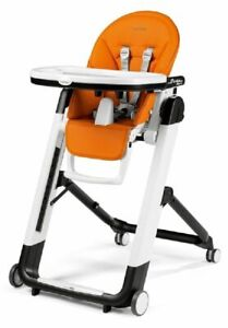 Peg Perego Siesta Follow Me Highchair - Arancia