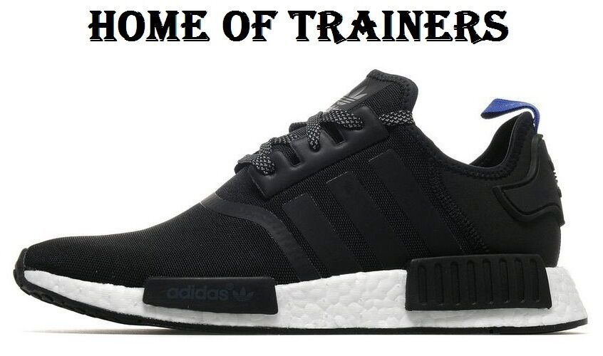 Adidas NMD R1 Noir Trainers And bleu For Hommes Trainers Noir All Sizes be5253