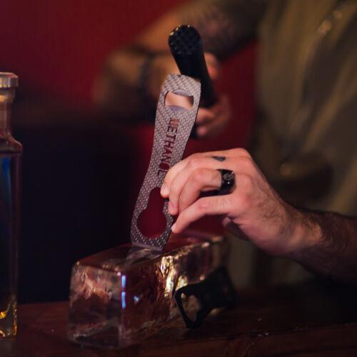 100/% Carbon Fiber Speed Bottle Opener and Ice Chisel Bartender Bar Alcohol Beer