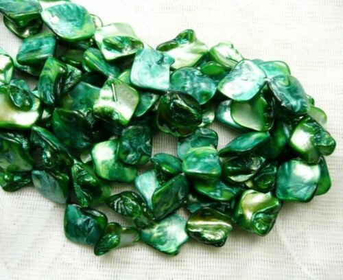 UKcheapest-15.5/'/' mother of pearl square blue green red yellow orange 20mm beads