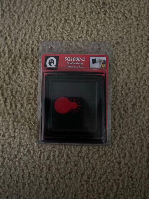 SQ1000-D 1 /& 2 Gang Saw Blade Oscillating Tool Wall Outlet Box QBit SQ1000-S