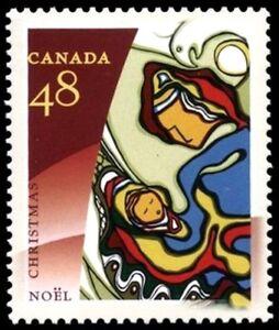 Canada-1965-VF-NH-CHRISTMAS-ABORIGINAL-ART-New-Issue-2002-Original-Gum