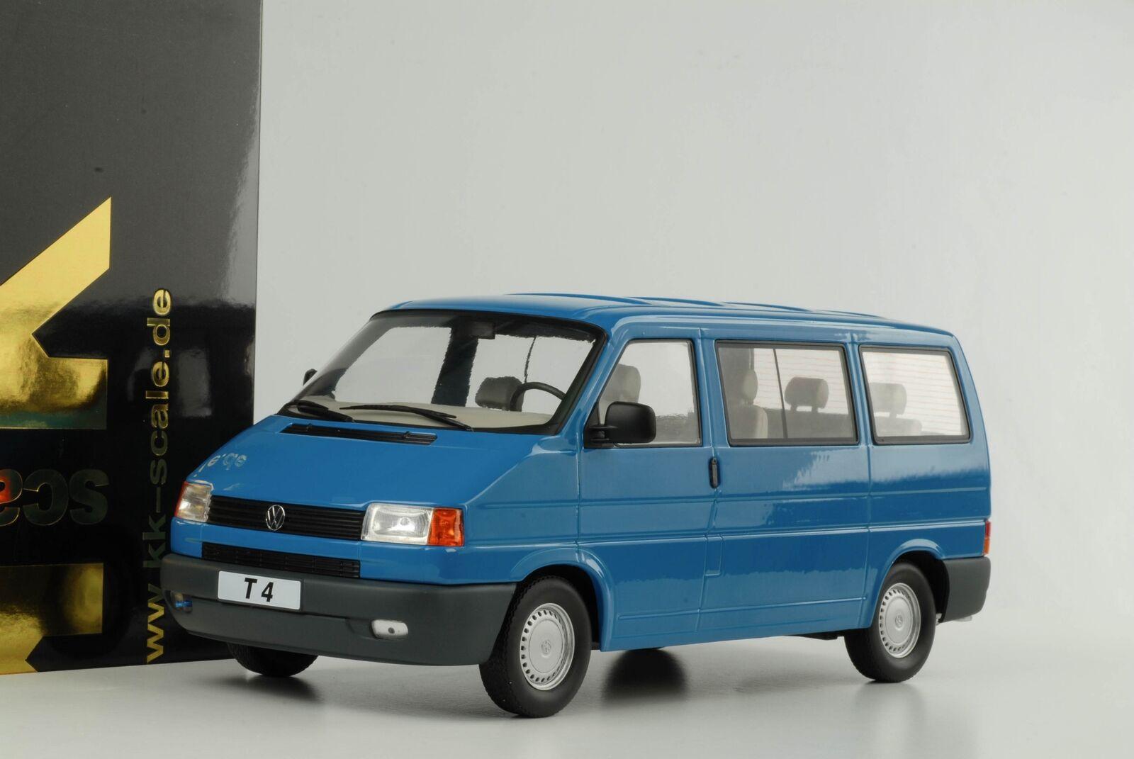 T4 vw VOLKSWAGEN BUS Caravelle 1992 Turquoise MODELE 1 18 KK NEUF