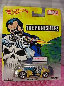 MARVEL HAULIN GAS The Punisher 2016 Hot Wheels Pop Culture C Case