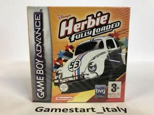 HERBIE-FULLY-LOADED-DISNEY-039-S-NINTENDO-GAME-BOY-ADVANCE-GBA-NEW-SEALED-PAL