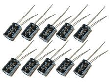 10 x Elko Radial 470uF 25V 105°C Kondensator