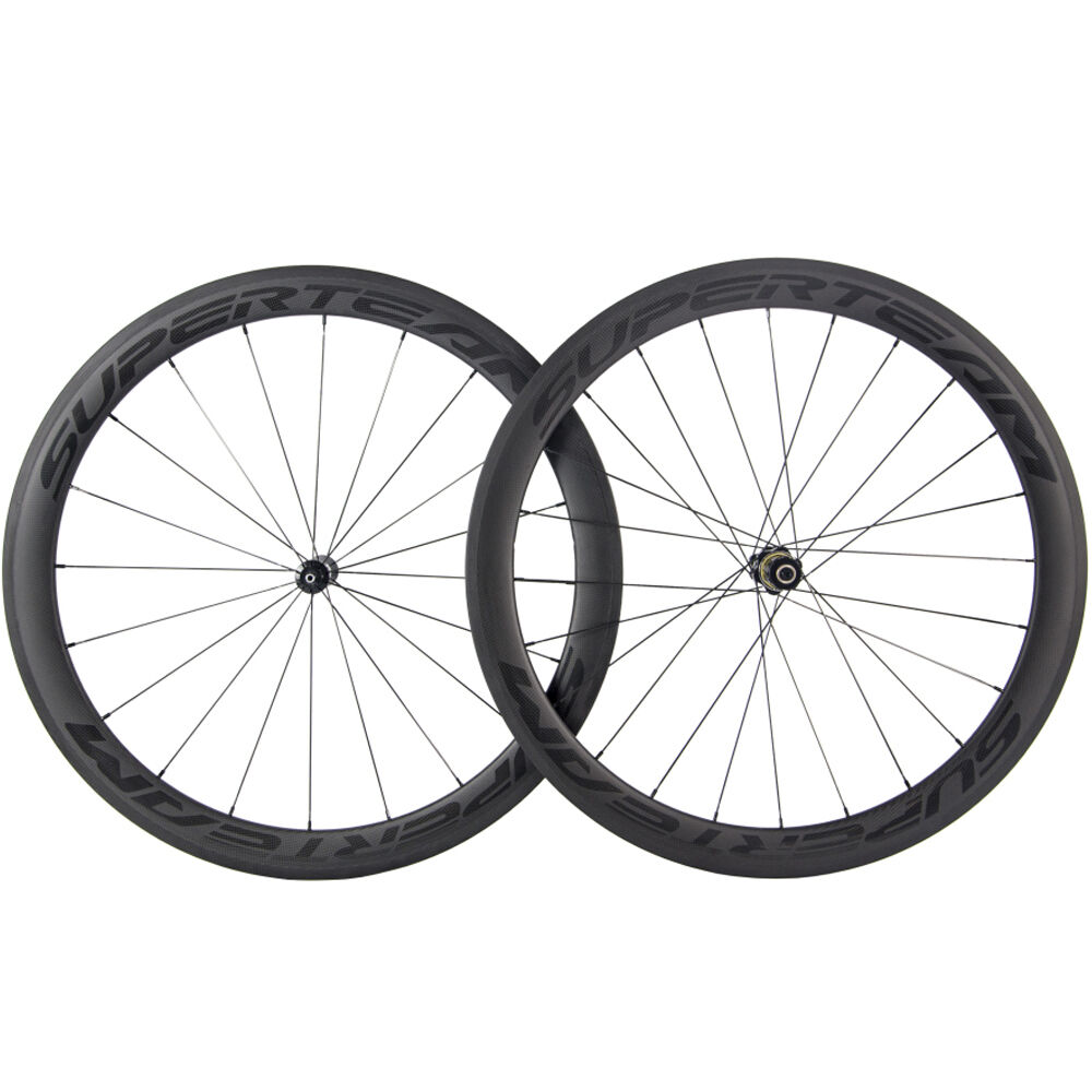 SUPERTEAM Carbon Wheels DT  swiss 350S Hub Carbon Road Bike Bicycle Wheelset  order now with big discount & free delivery