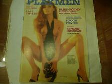 """PLAYMEN nr 5 MAGGIO 1979""""FOTO Erotiche LARA ST.PAUL/BOROWCZYK""""  A0"""