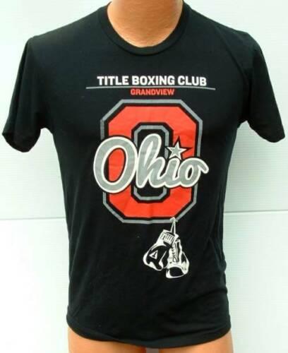 OHIO Title Boxing Club Grandview T shirt screened