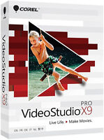 Corel Videostudio Pro X9 - Brand Retail Box