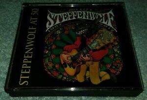 JOHN-KAY-amp-STEPPENWOLF-Steppenwolf-At-50-3-CD-RARE-SET