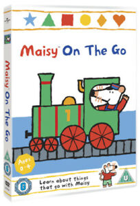 Maisy-Maisy-On-the-Go-DVD-2012-Neil-Morrissey-cert-U-NEW-Amazing-Value