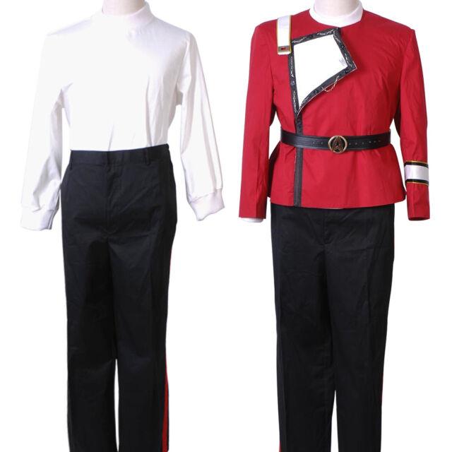 Star Trek II-VI Wrath of Khan WOK Cosplay Starfleet Captain Kirk Uniform Costume