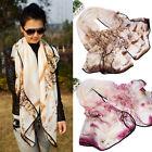 Women Tree Print Wrap Shawl Scarf Sarong Soft Long Voile Stole Scarves Fairish