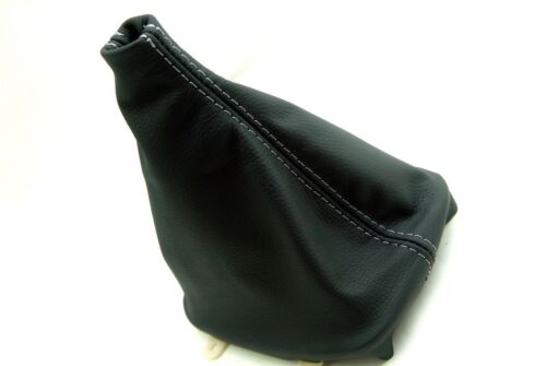 Manual Boot Synthetic Leather Gray Stitch for Nissan Silva 240SX 89-93