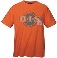 NEU: YOUNG FASHION TRENDSTYLE KURZARM T-SHIRT GR. XS orange H.I.S. *893630