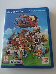PS Vita One Piece Unlimited World Red FRA Bon état