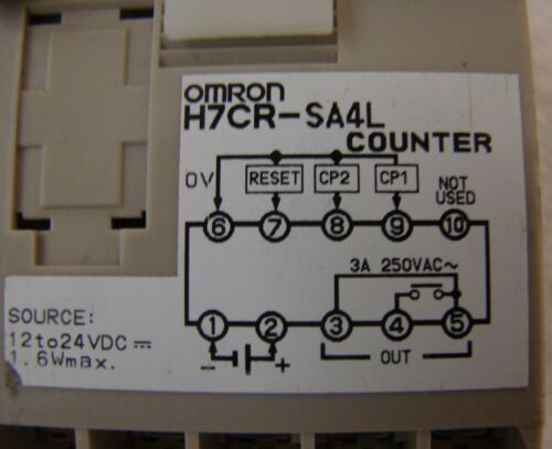 Omron H7CRSA4L Counter