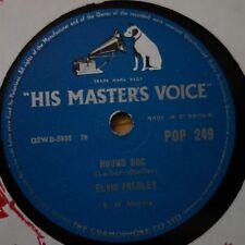 POP 249 Elvis Presley Hound Dog / Don't be Cruel  78rpm