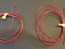 2 Yards XXS -  RED 1mm  Mylar Tubing Piping Fly Tying